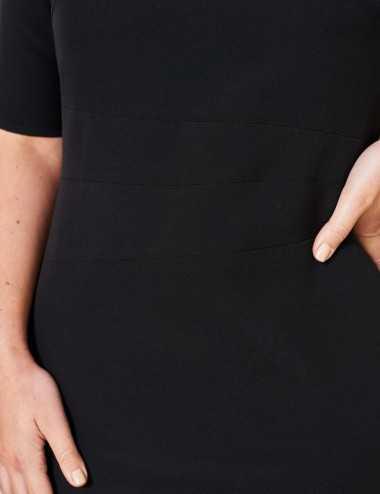 Robe fittée noire