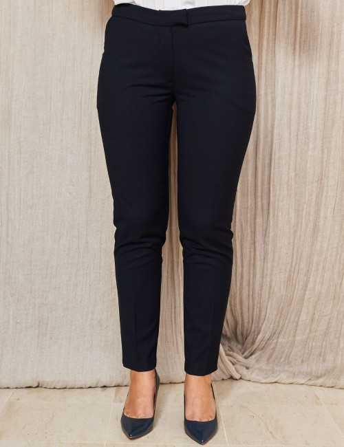 Pantalon droit marine