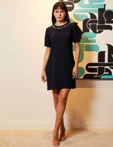 Chaima Dress -  Robe droite...