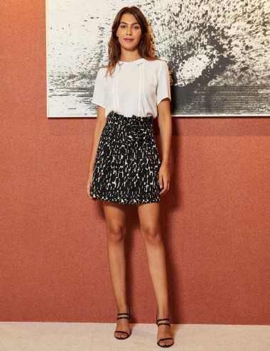 Lobna Skirt - Jupe taille...