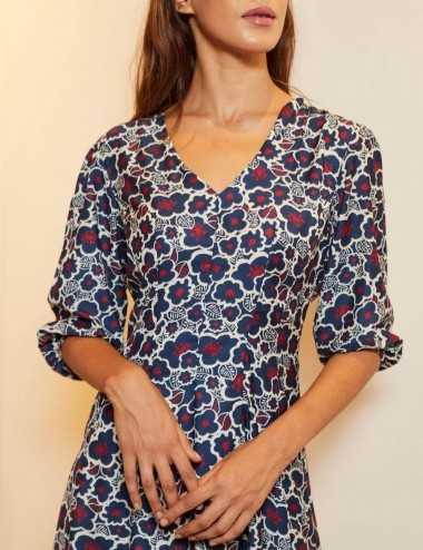 Faten Dress - Robe fluide...