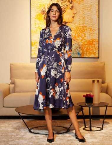 Kenza Dress - Robe fluide...
