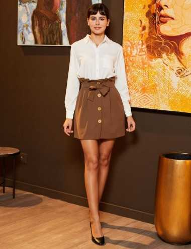Soraya Skirt - Jupe taille...